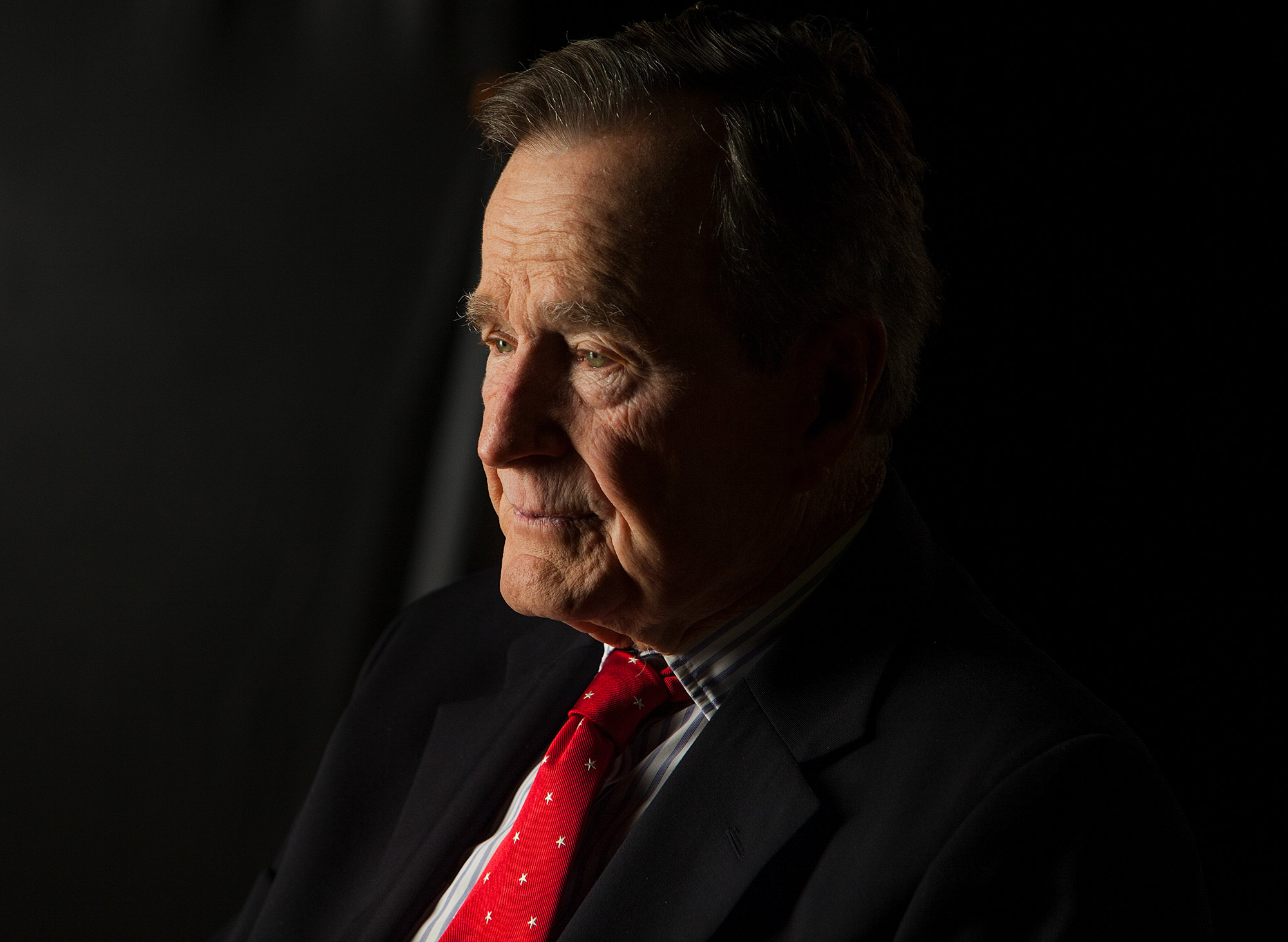 "President George H.W. Bush Interviewed for ""The Presidents' Gatekeepers"""