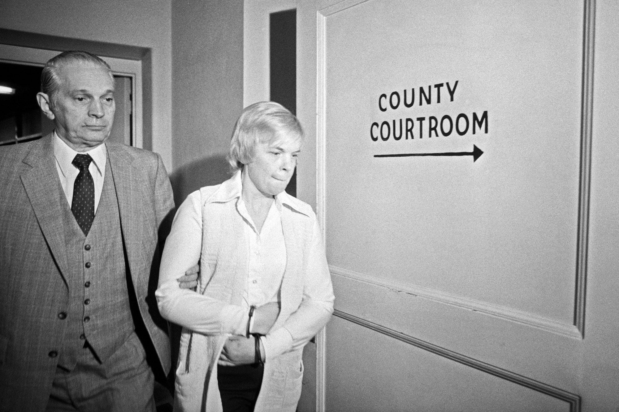 Marybeth Tinning Being Led to Bail Hearing