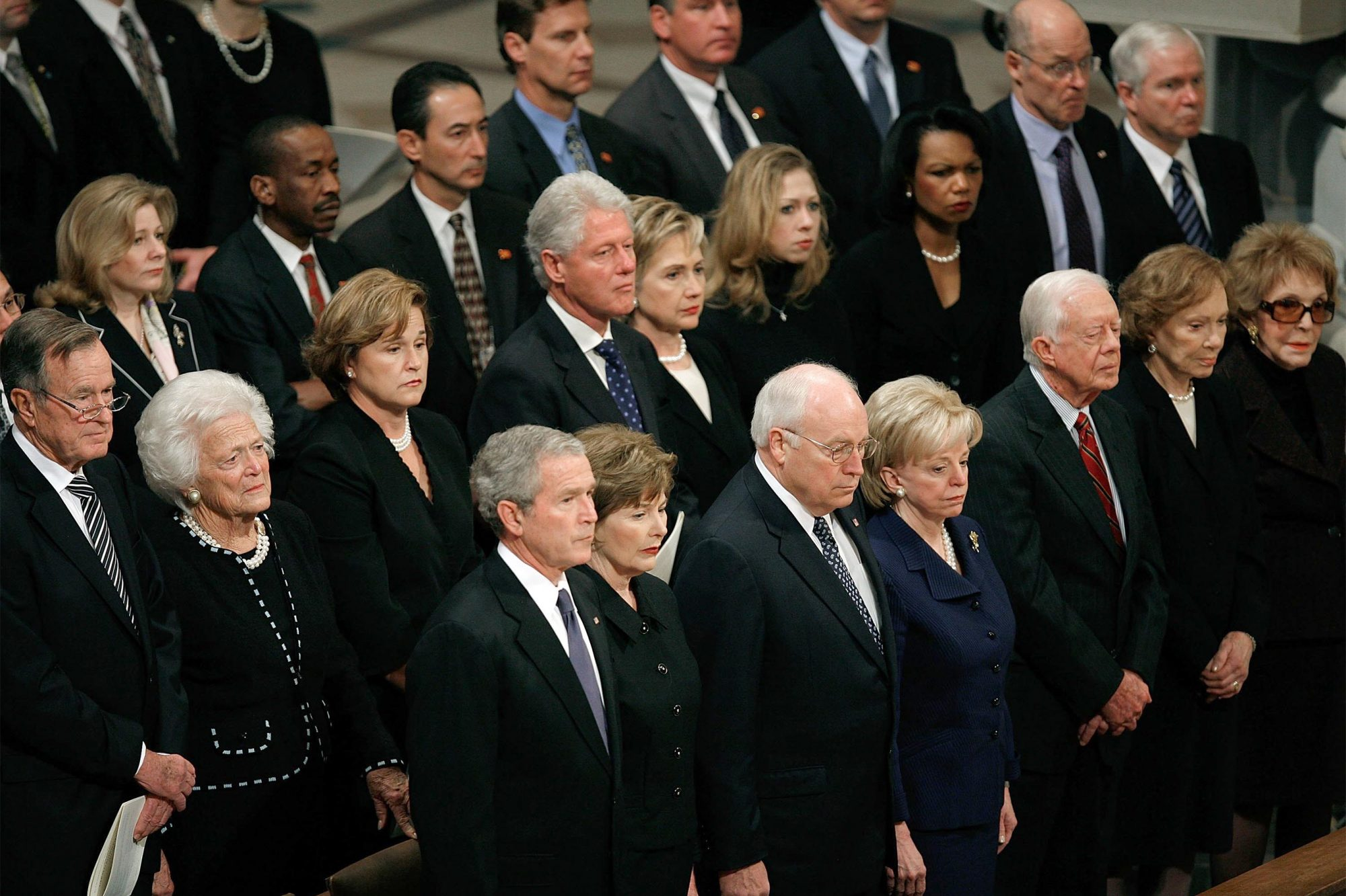 Washington Remembers Gerald Ford At Funeral At National Cathedral