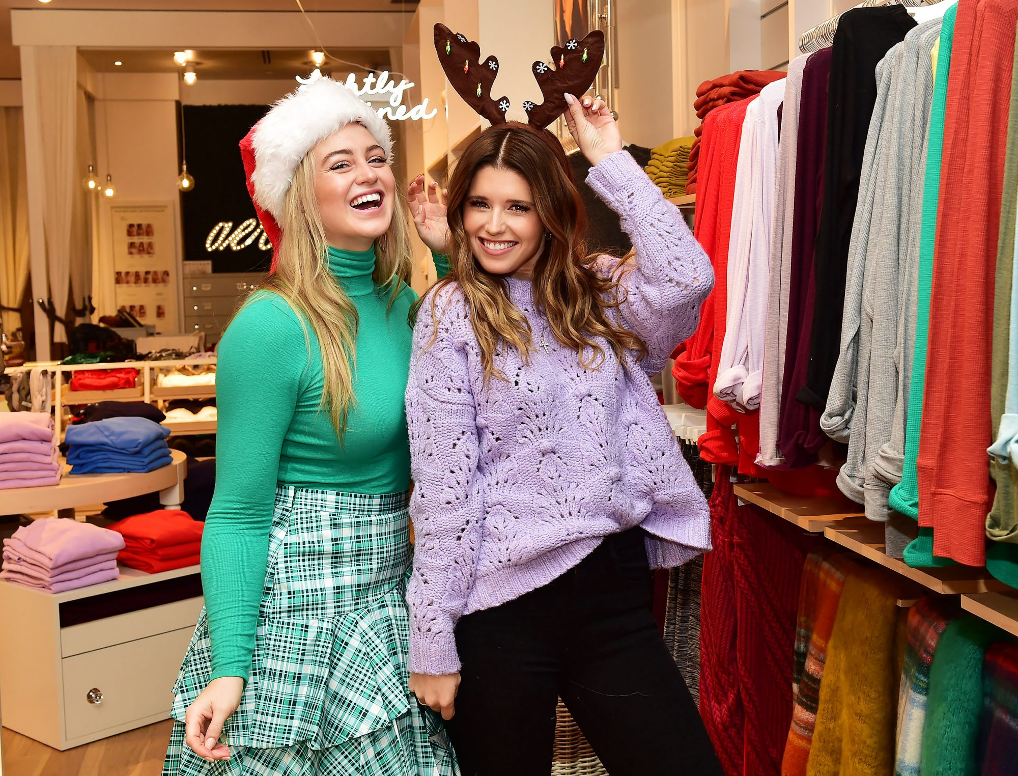 Katherine Schwarzenegger and Iskra Lawrence Join Aerie for #AerieREAL Talk