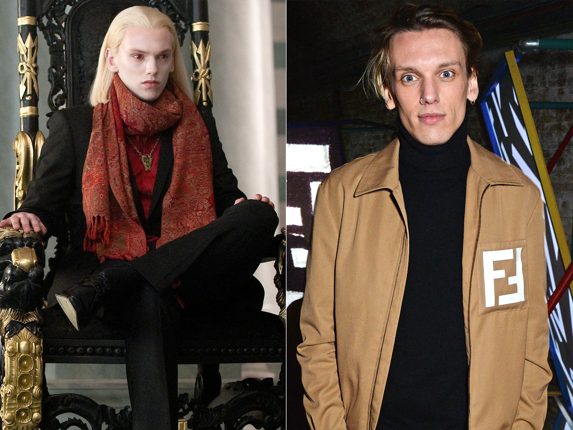 Jamie Campbell Bower as Caius Volturi