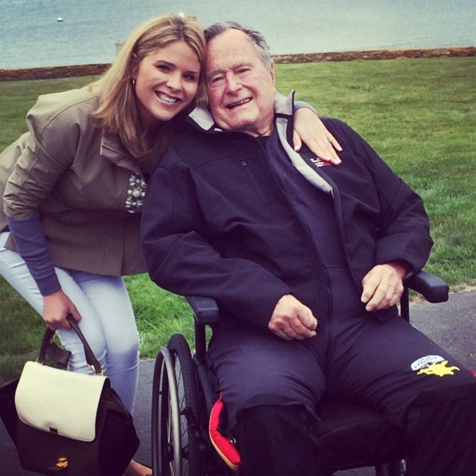 Jenna Bush Hager George H. W. BushCredit: Jenna Bush Hager/Instagram
