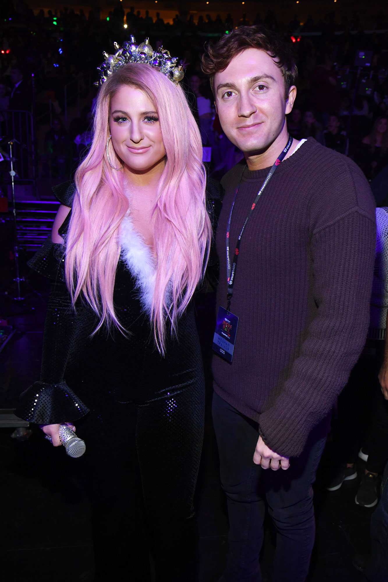 MEGHAN TRAINOR GETS LOVE IN 'ALL THE WAYS' FROM DARYL SABARA