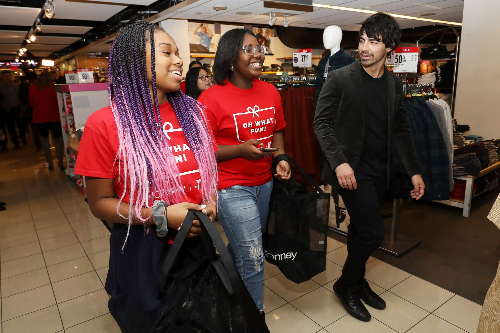 JCPenney Holiday Giving Spree NYC, New York, USA - 06 Dec 2018