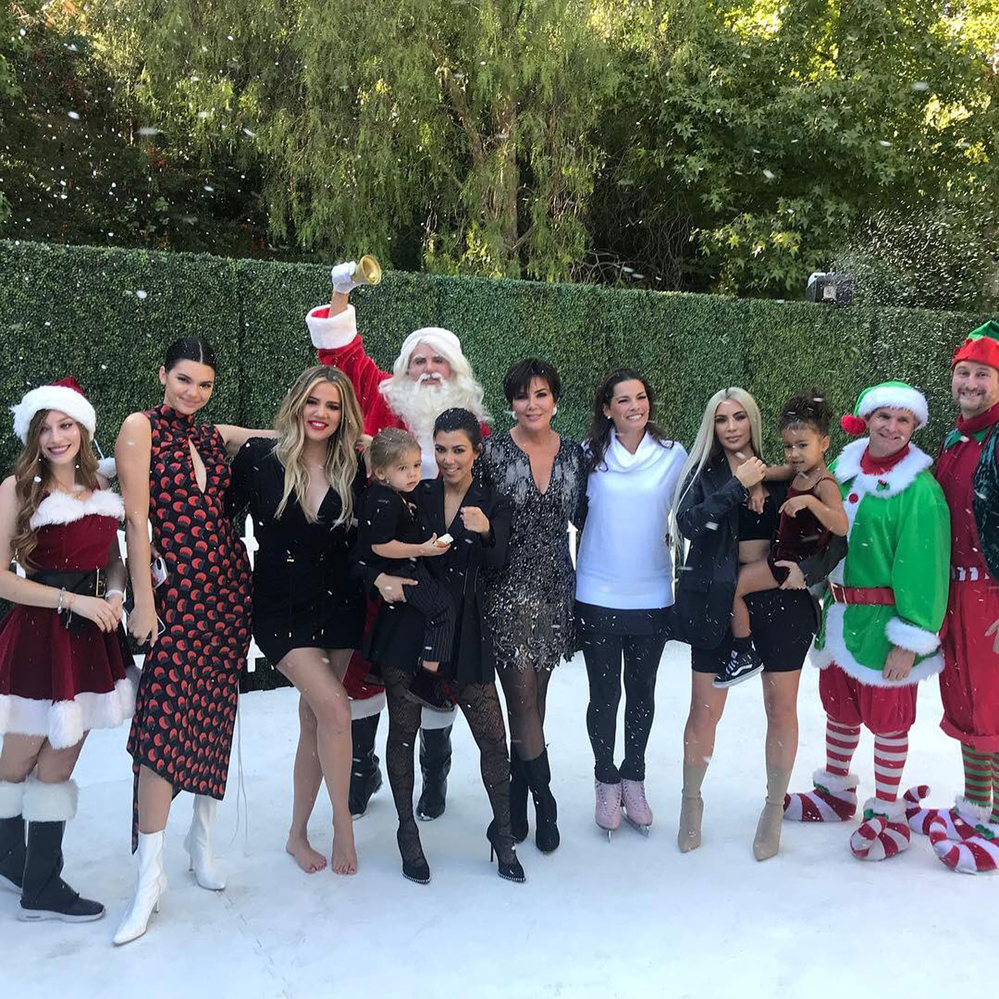 KarJenner Christmas by the Numbers