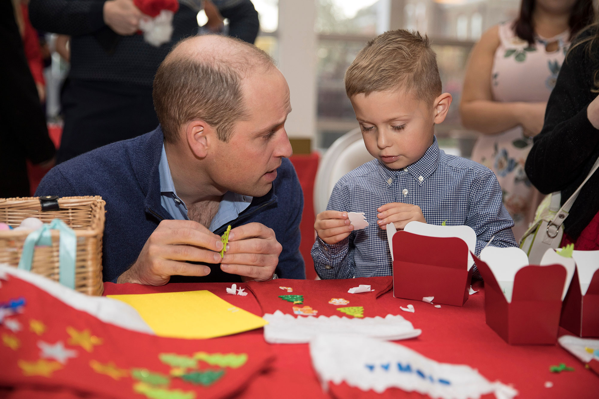 Prince William and Catherine Duchess of Cambridge host lunch for military personnel, London, UK - 04 Dec 2018
