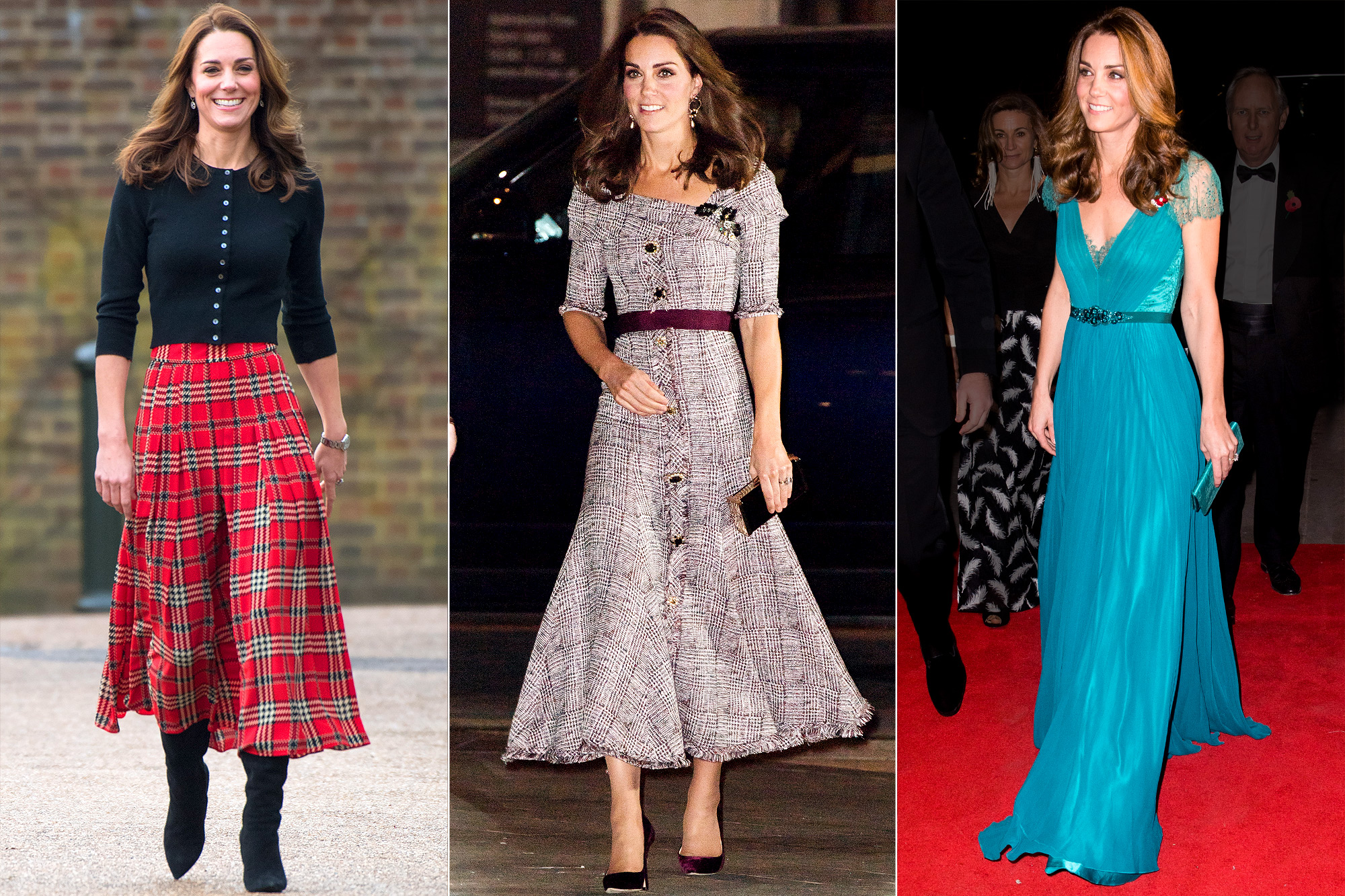 Kate Middleton Best Outfits 2018: Photos | PEOPLE.com Gowns