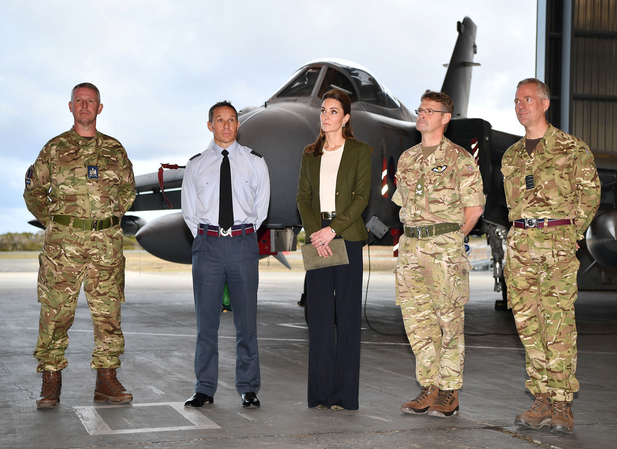Prince William and Catherine Duchess of Cambridge visit military personnel, Cyprus - 05 Dec 2018