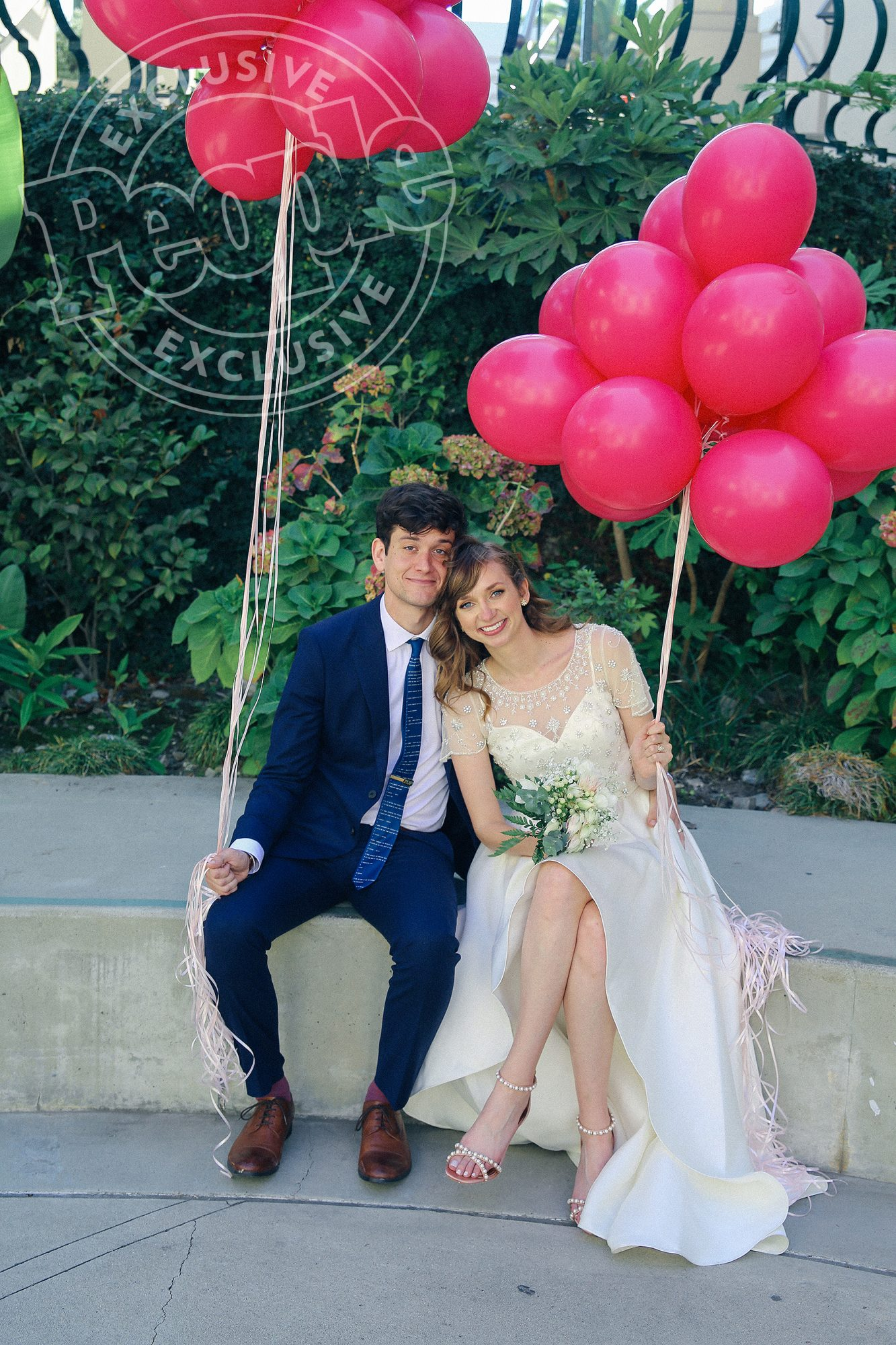 Lauren Lapkus Marries Mike CastleCredit: Rebekkah Drake