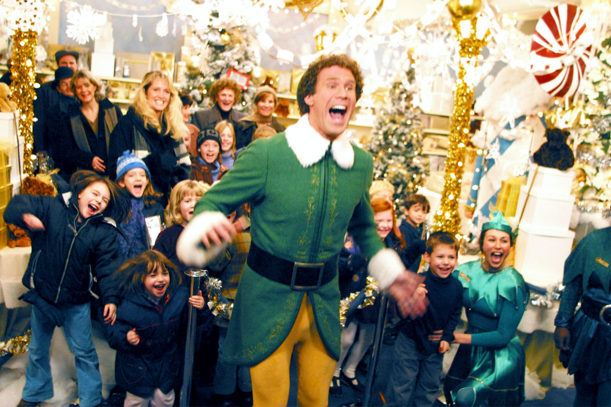 ELF, Will Ferrell, 2003, (c) New Line/courtesy Everett Collection