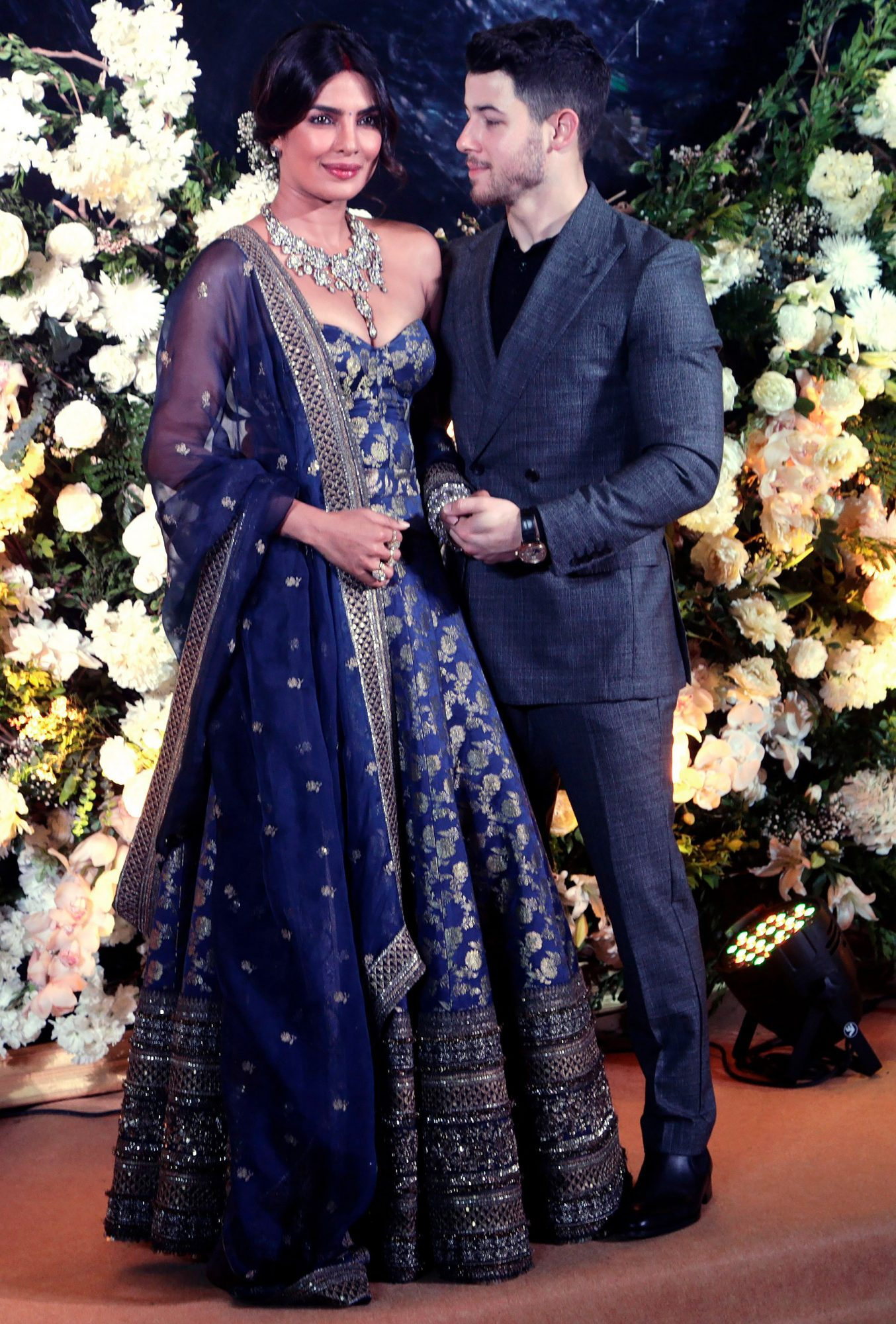 Chopra Jonas Wedding, Mumbai, India - 19 Dec 2018