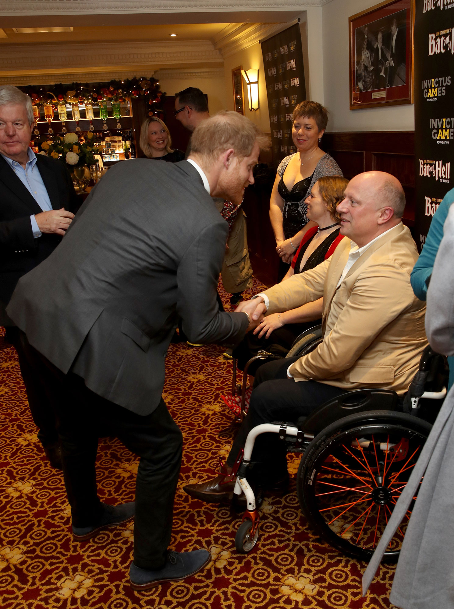 """The Duke Of Sussex Attends Gala Performance Of """"Bat Out Of Hell - The Musical"""""""