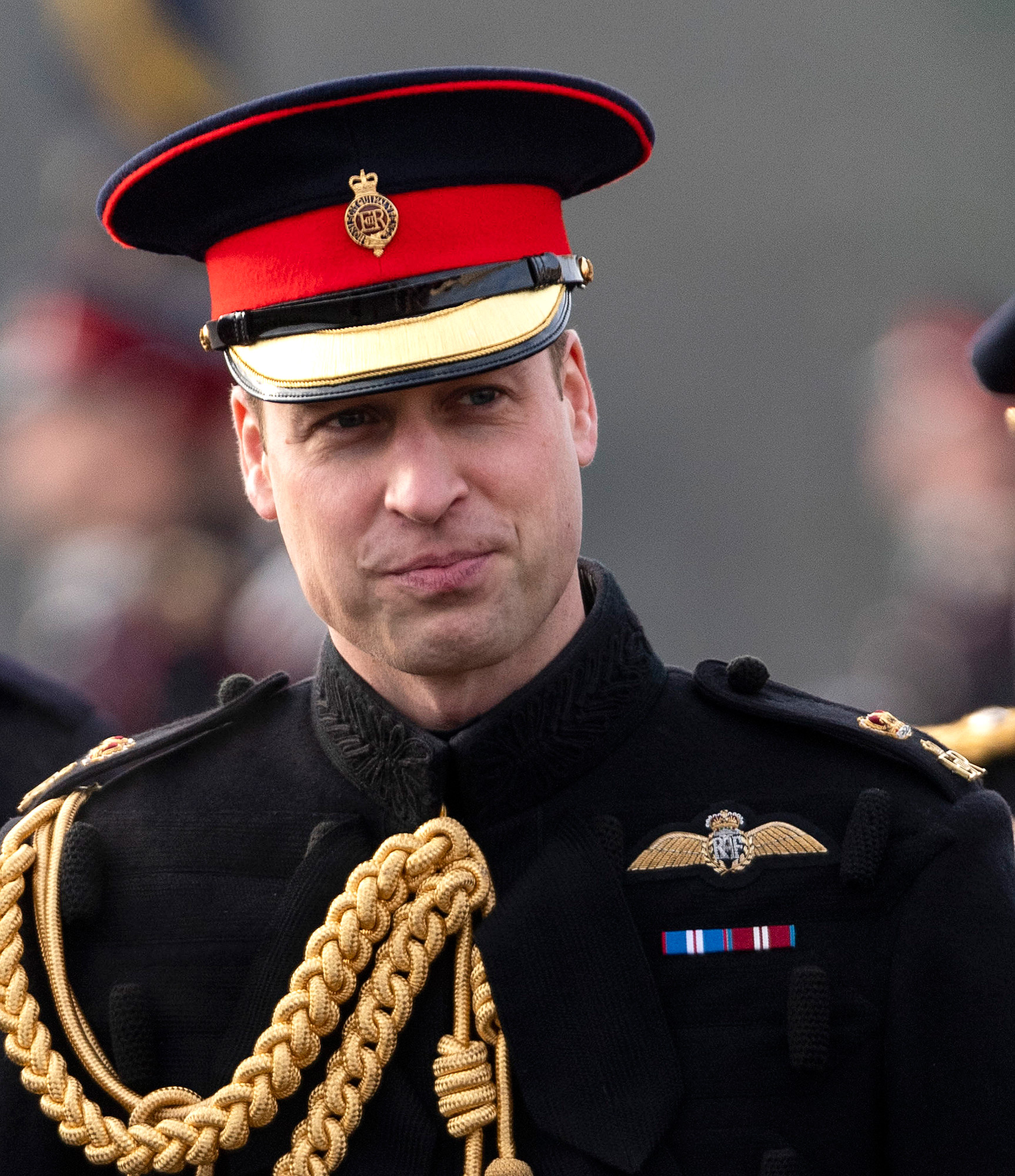 The Duke Of Cambridge Attends The Soverign's Day Parade