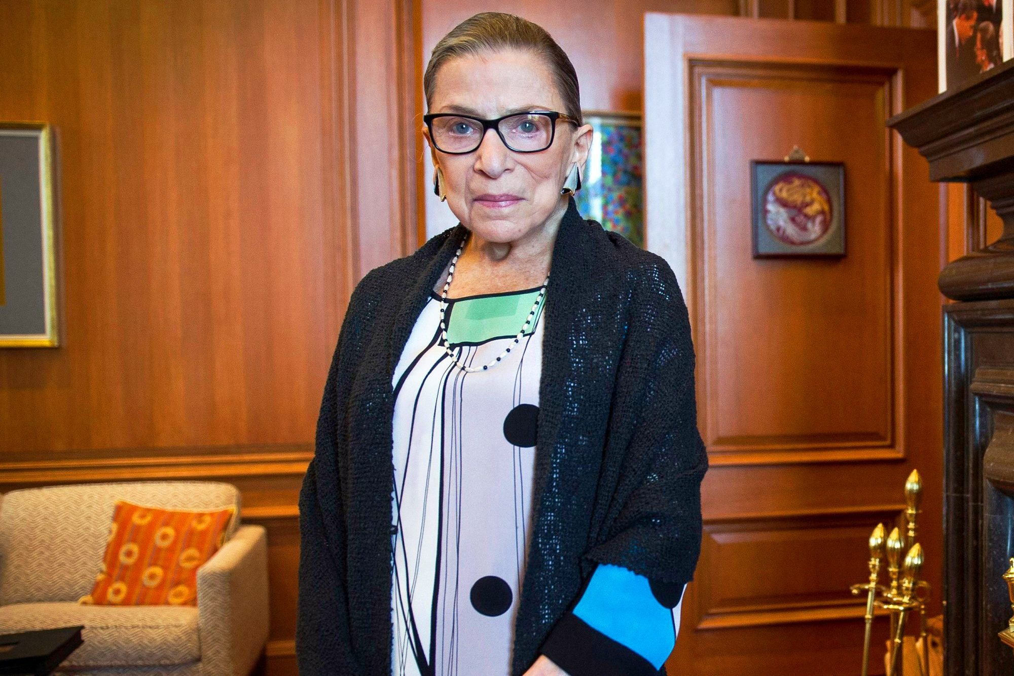 Supreme Court Ginsburg, Washington, USA - 31 Jul 2014