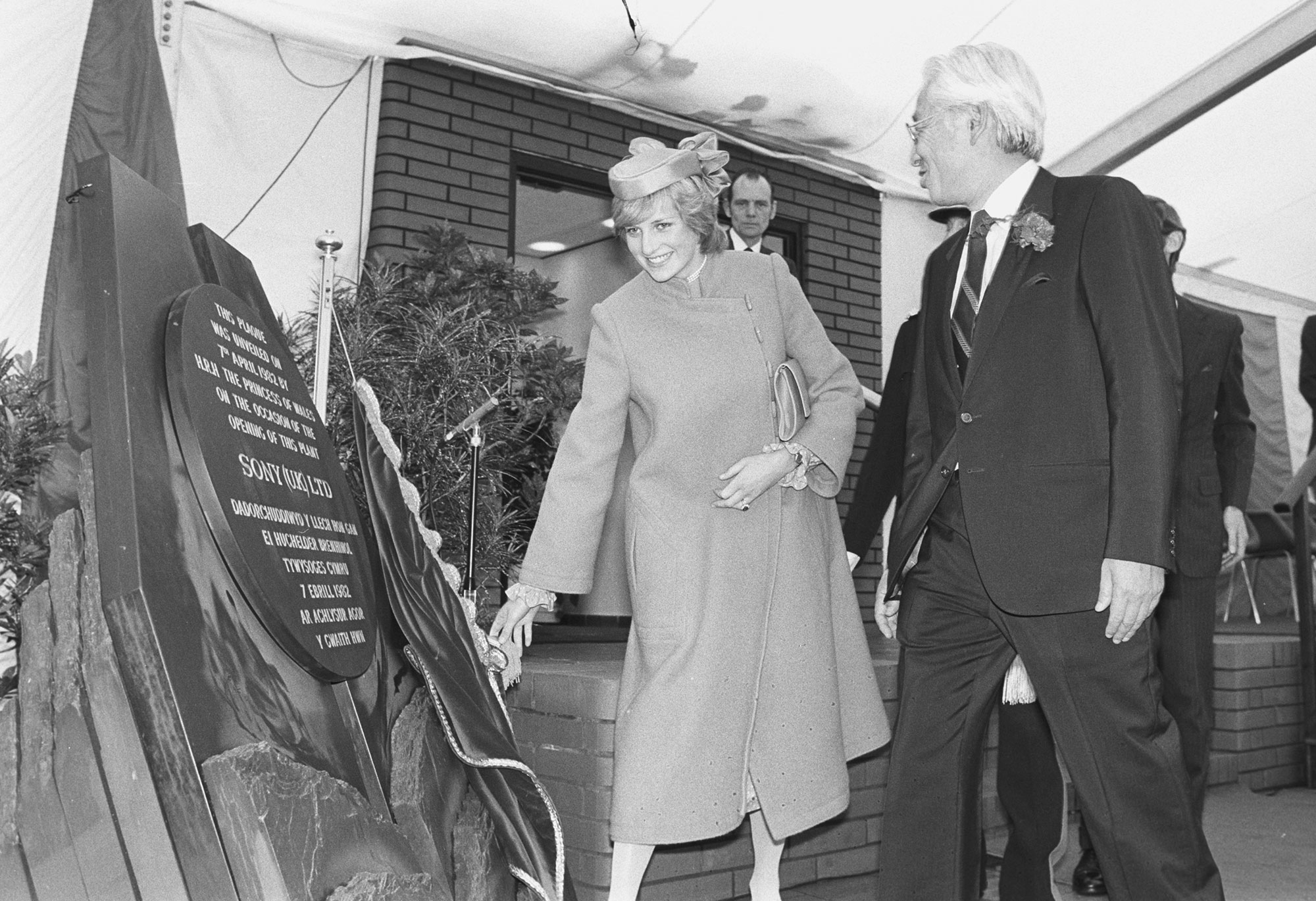 Royalty - Princess Diana - Factory Opening - Wales