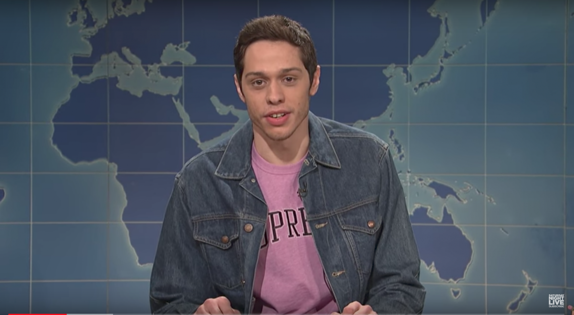 Pete Davidson on Weekend Update on SNL