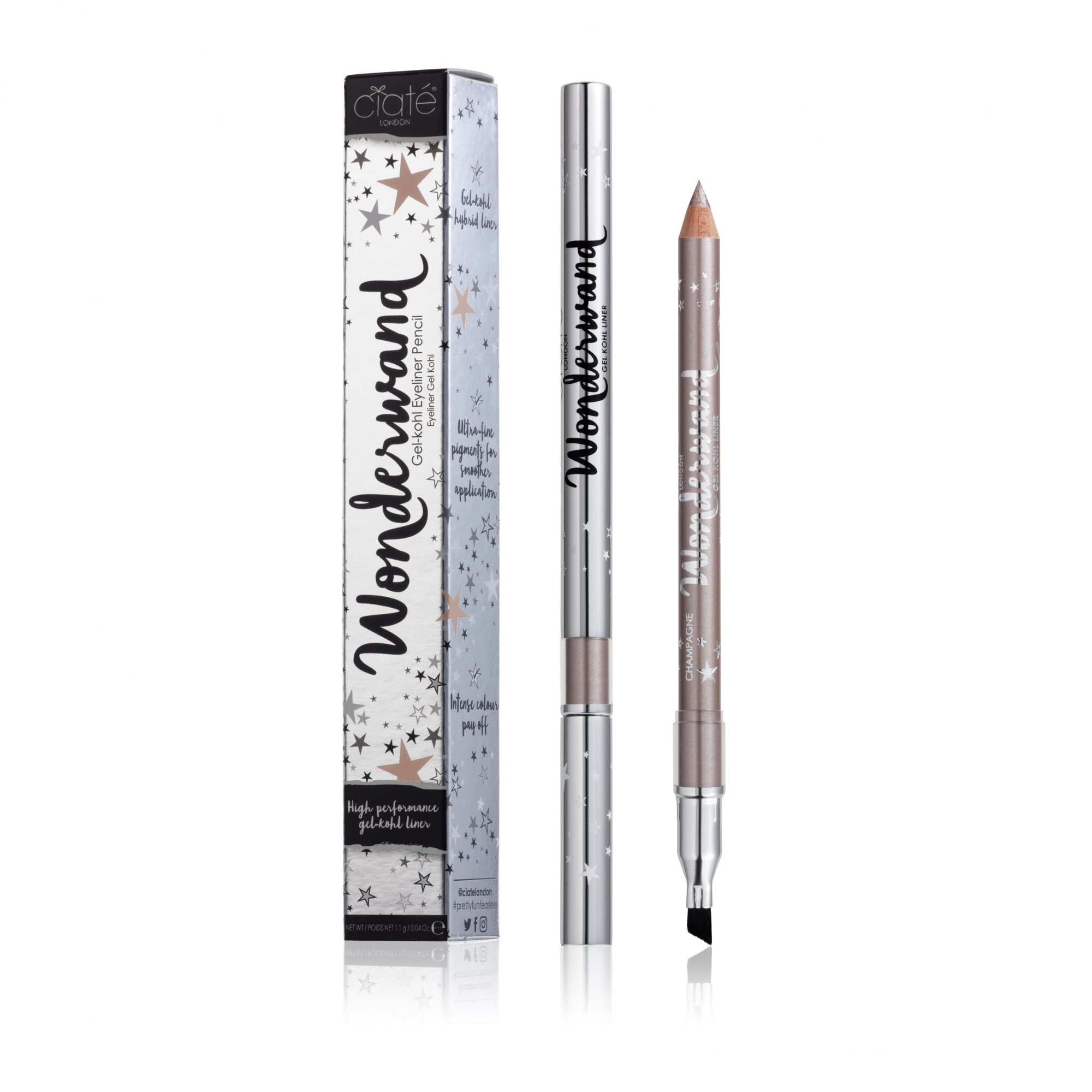 WWL008 Wonderwand Eyeliner Champagne Pack and Product edit