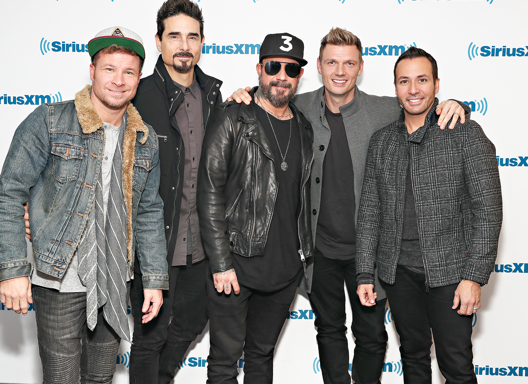 Backstreet Boys Perform Live On SiriusXM Hits 1 At The SiriusXM Studios In New York City