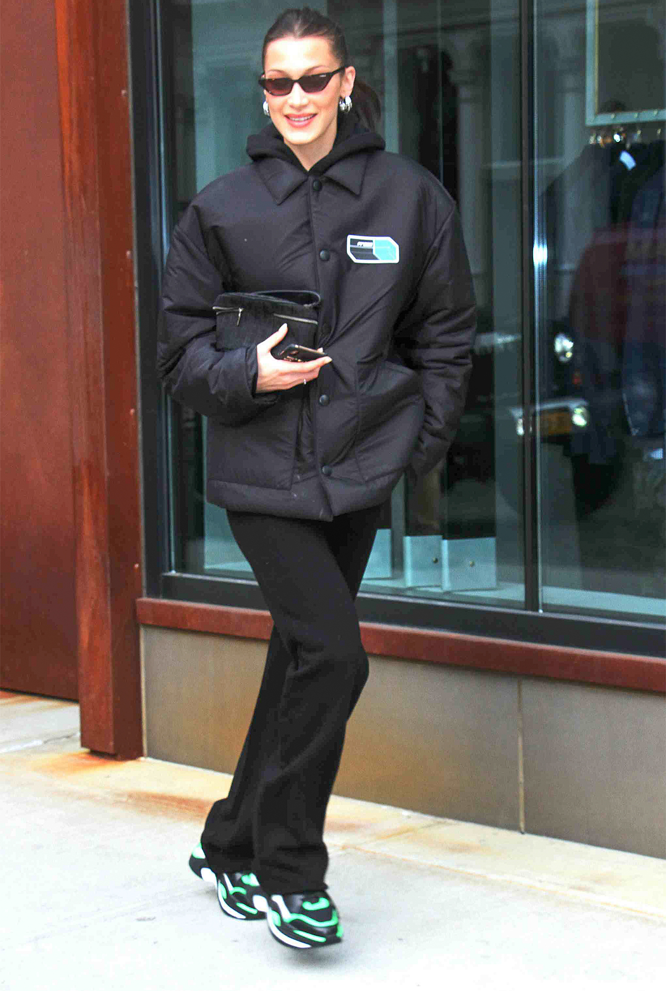 Bella Hadid seen out in New York City
