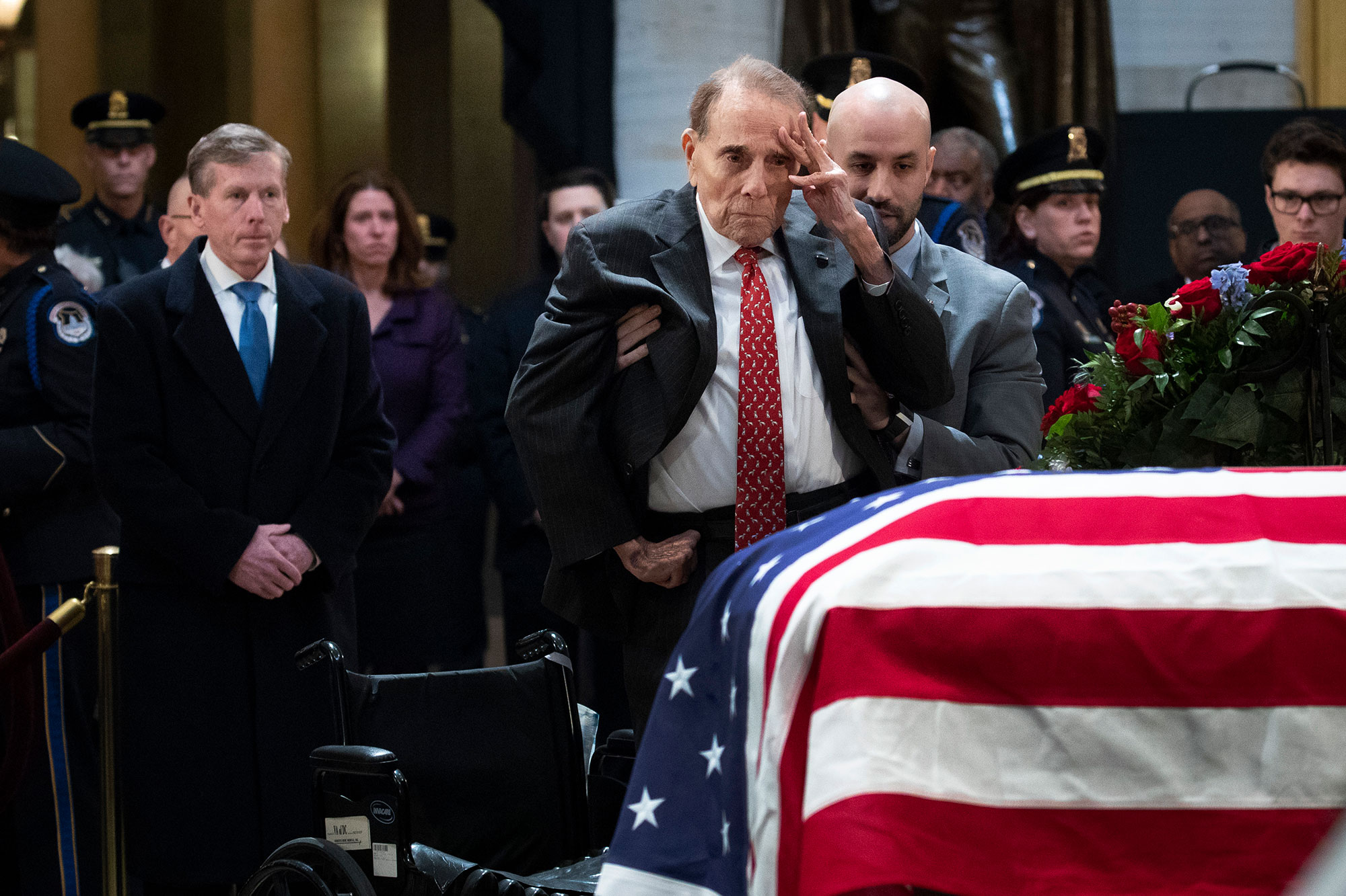 Washington DC In Mourning For Late President George H.W. Bush