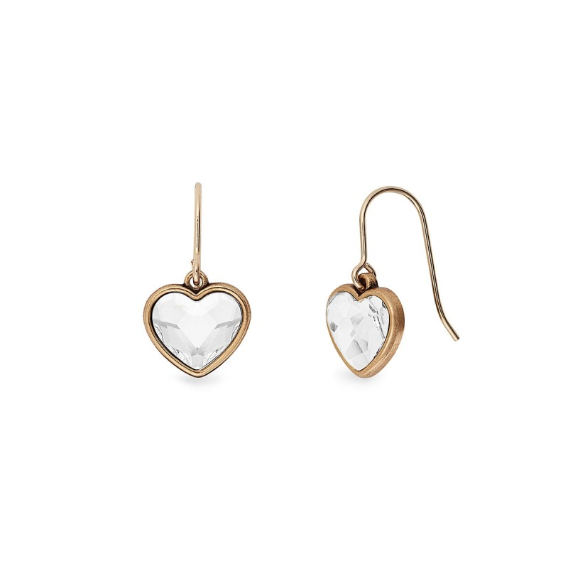 PEOPLE Exclusive Discount Code: Crystal Heart Hook Earrings at Alex and Ani
