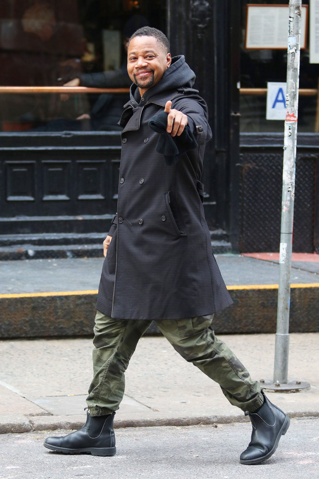 Cuba Gooding Jr. Is All Smiles In New York City