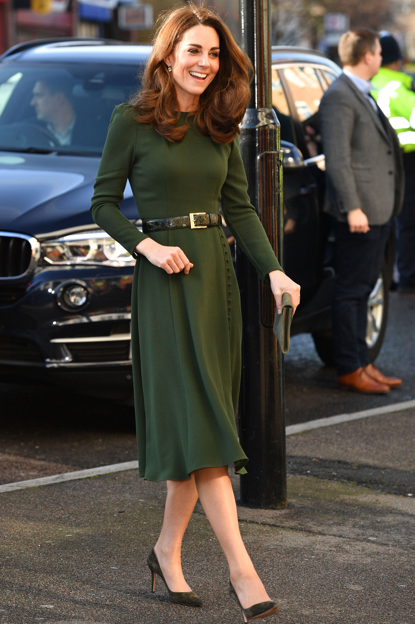 Catherine Duchess of Cambridge visits Family Action, Lewisham, London, UK - 22 Jan 2019