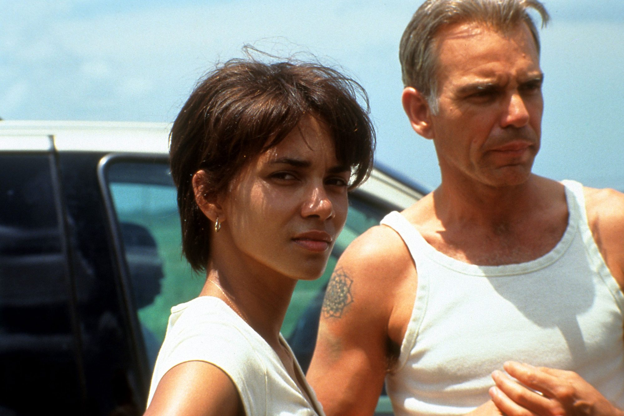 Halle Berry And Billy Bob Thornton In 'Monster's Ball'