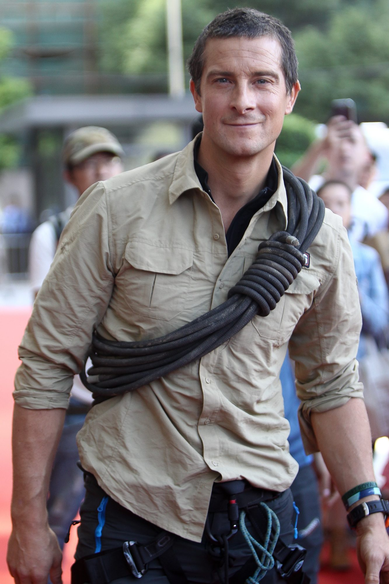 "Bear Grylls Attends ""Survivor Games"" Shanghai Shoot"