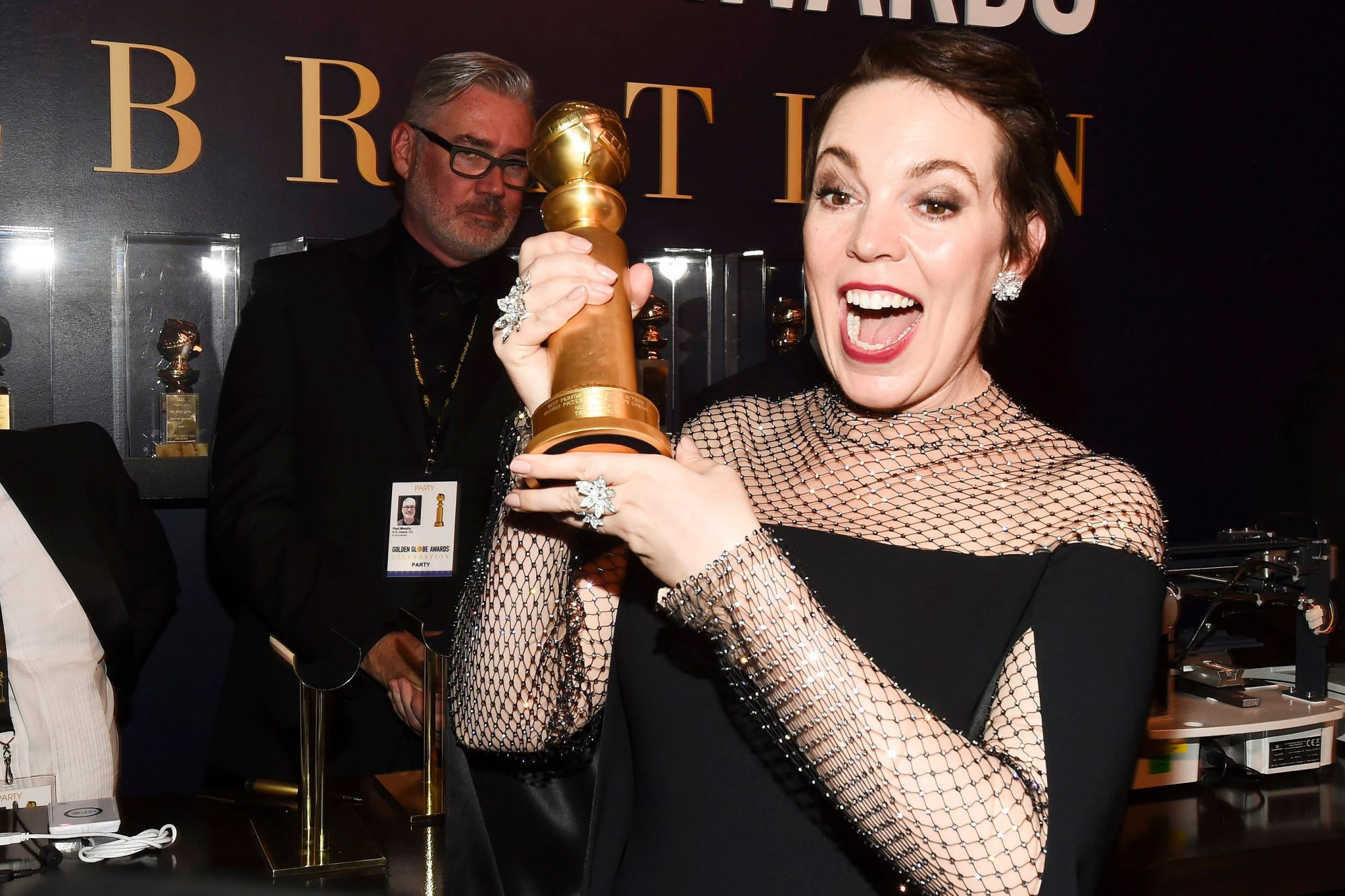 HFPA 76th Annual Golden Globe Awards, Screening and After Party, Inside, Los Angeles, USA - 06 Jan 2019