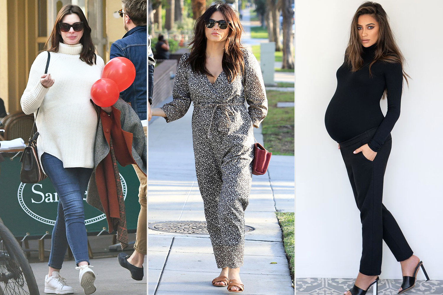 celebrities in hatch maternity wear