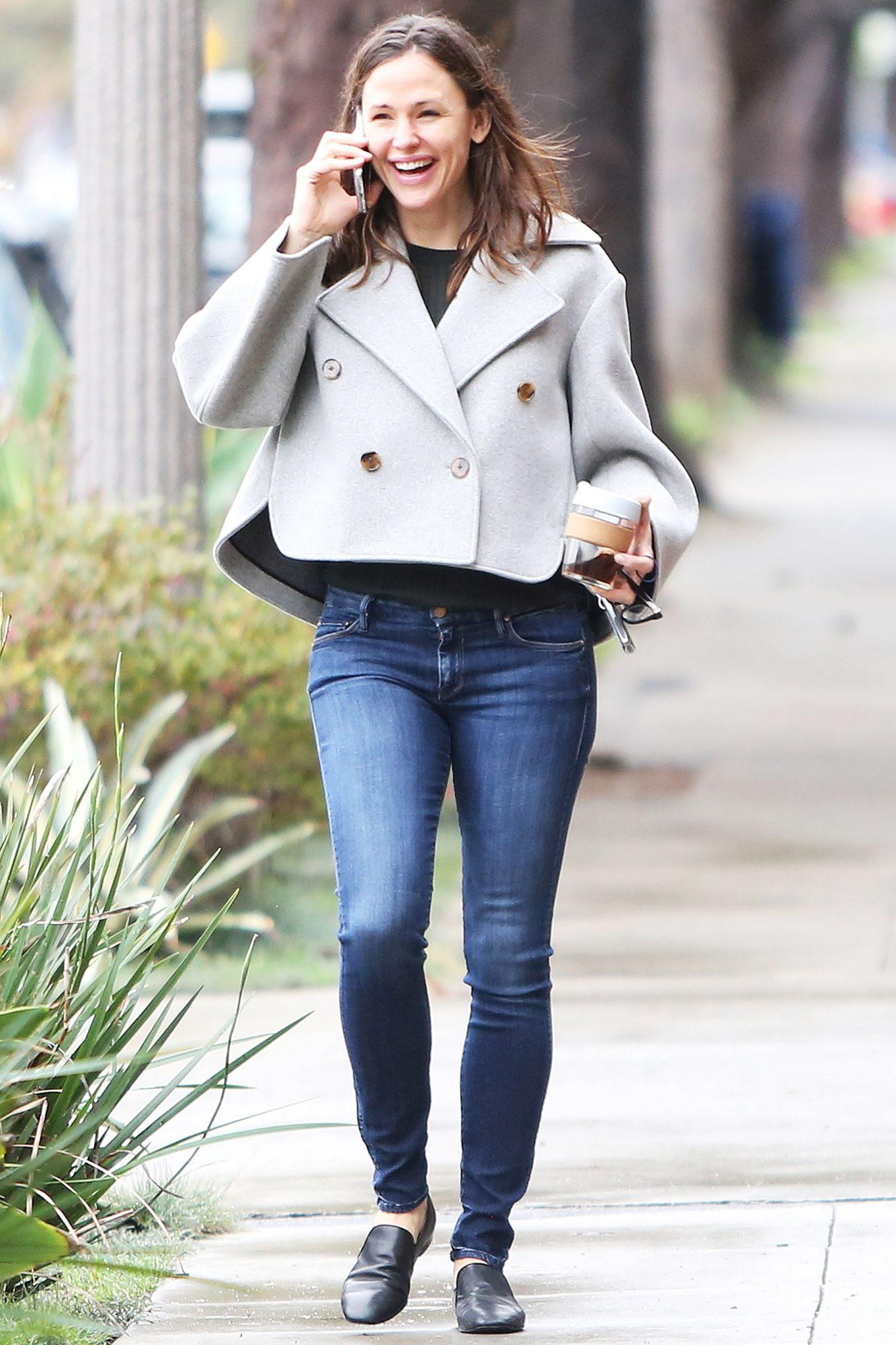 Jennifer Garner out and about in Santa Monica