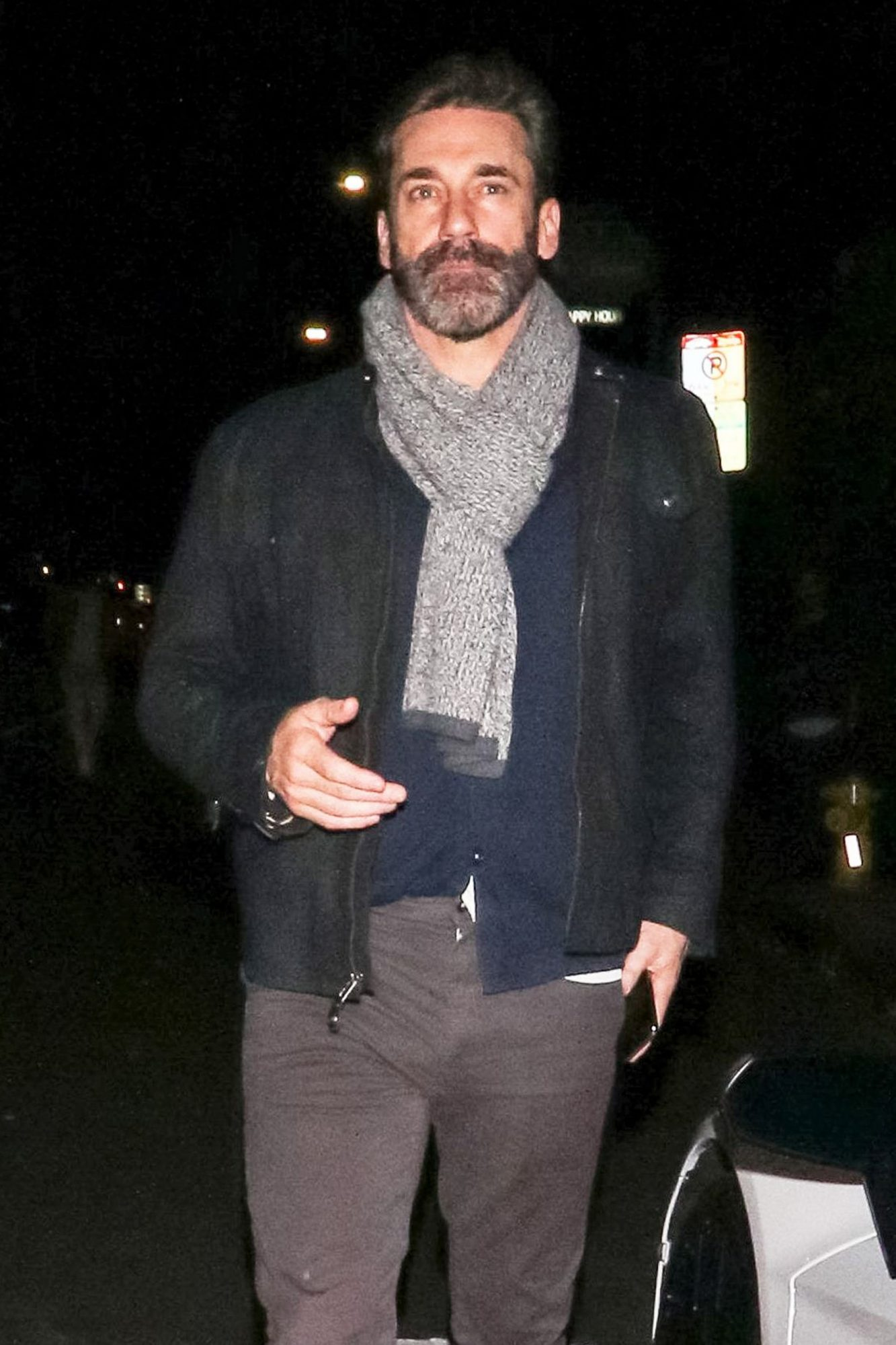 Jon Hamm out and about, Los Angeles, USA - 21 Jan 2019