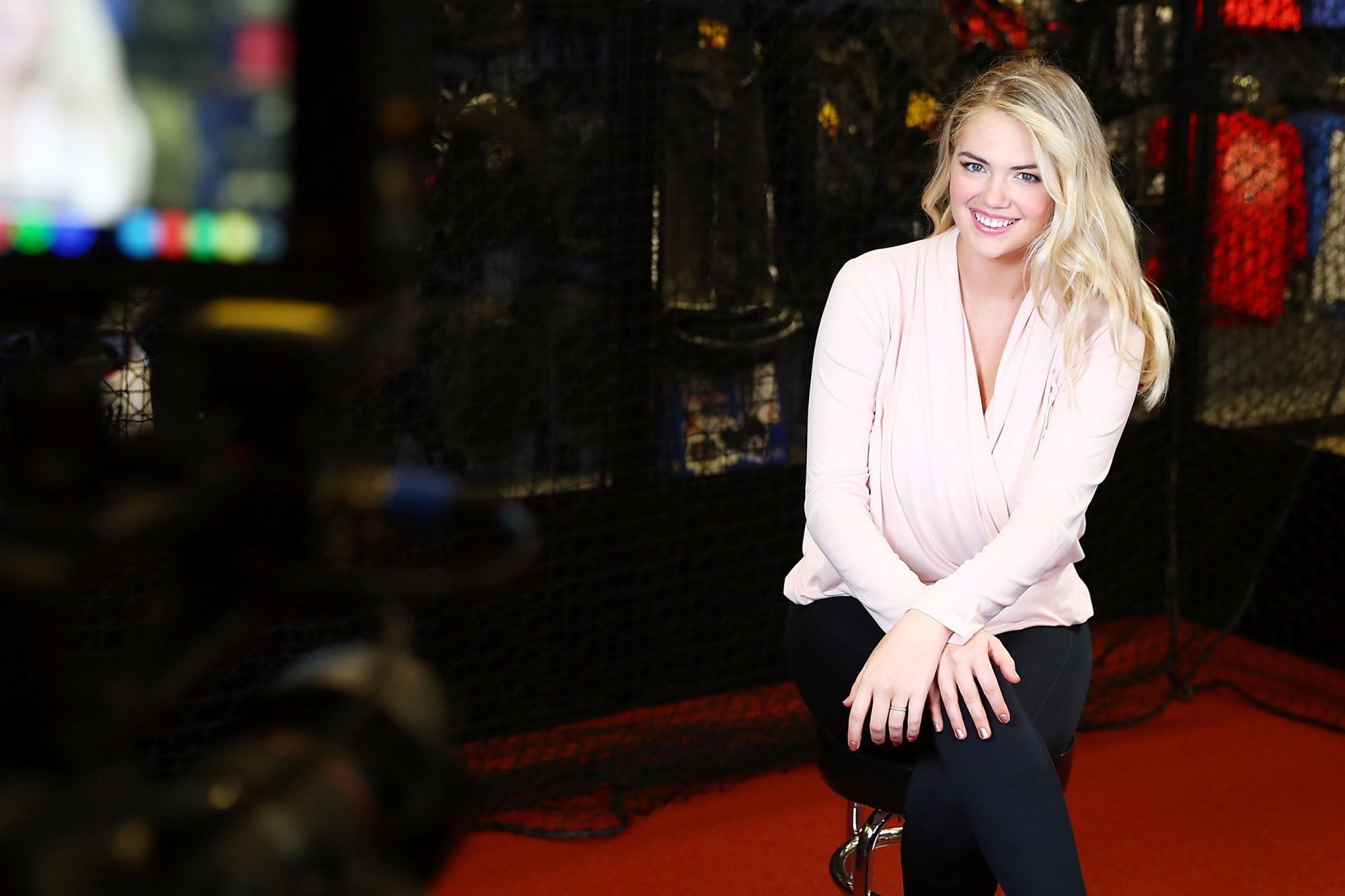 Copper Fit Brand Ambassador Kate Upton At Dick's Sporting Goods