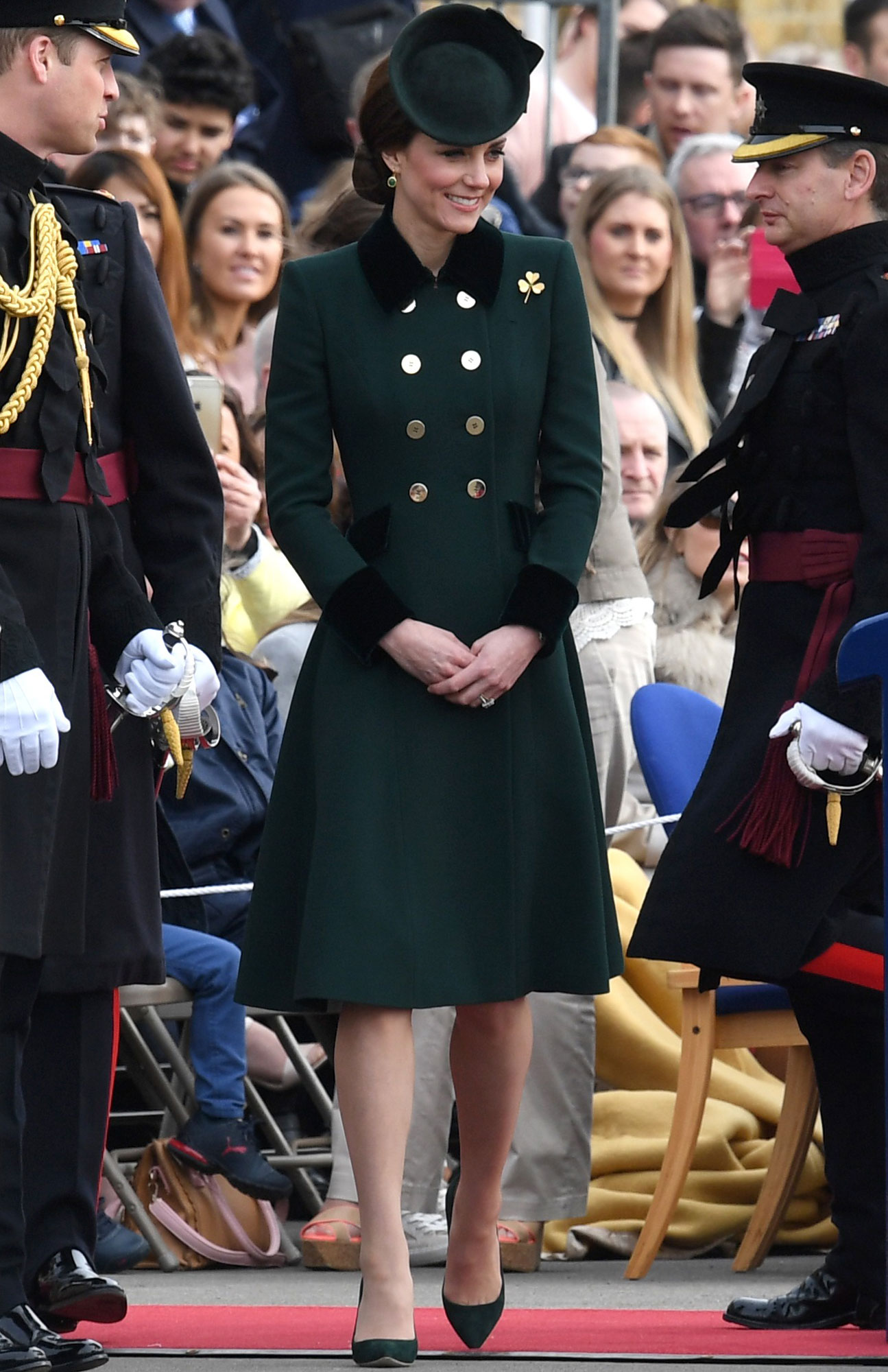DEEP GREEN COAT