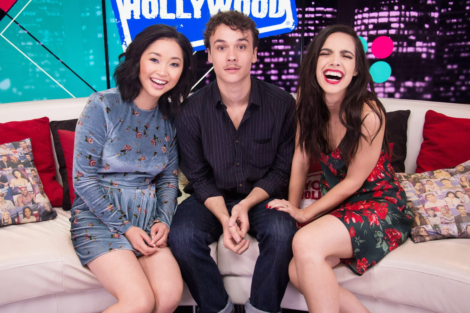 Deadly Class Cast Visit Young Hollywood Studio