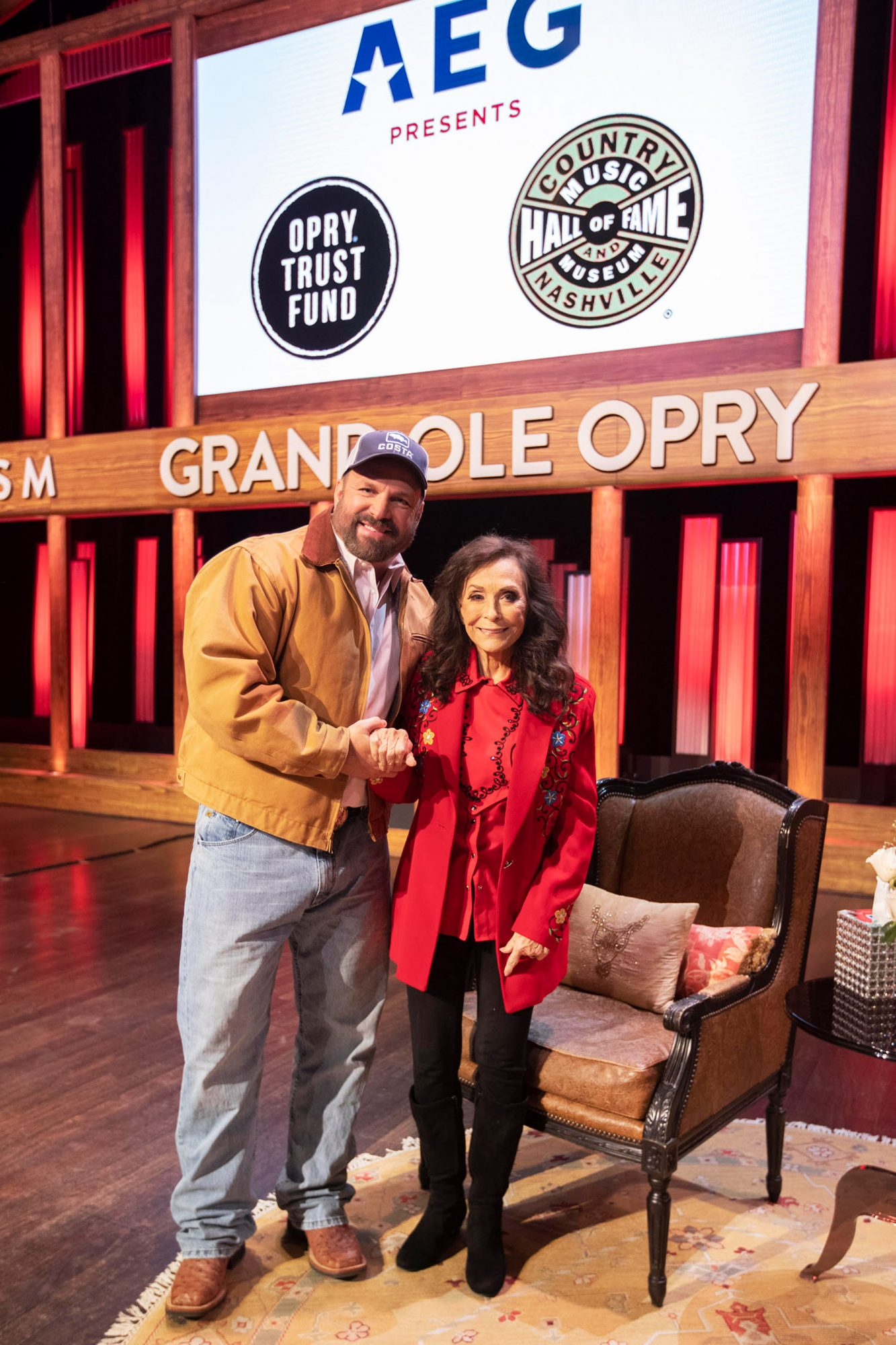 Garth Brooks, Loretta Lynn - Grand Ole OpryCredit: Chris Hollo