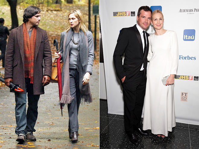 KELLY RUTHERFORD & MATTHEW SETTLE