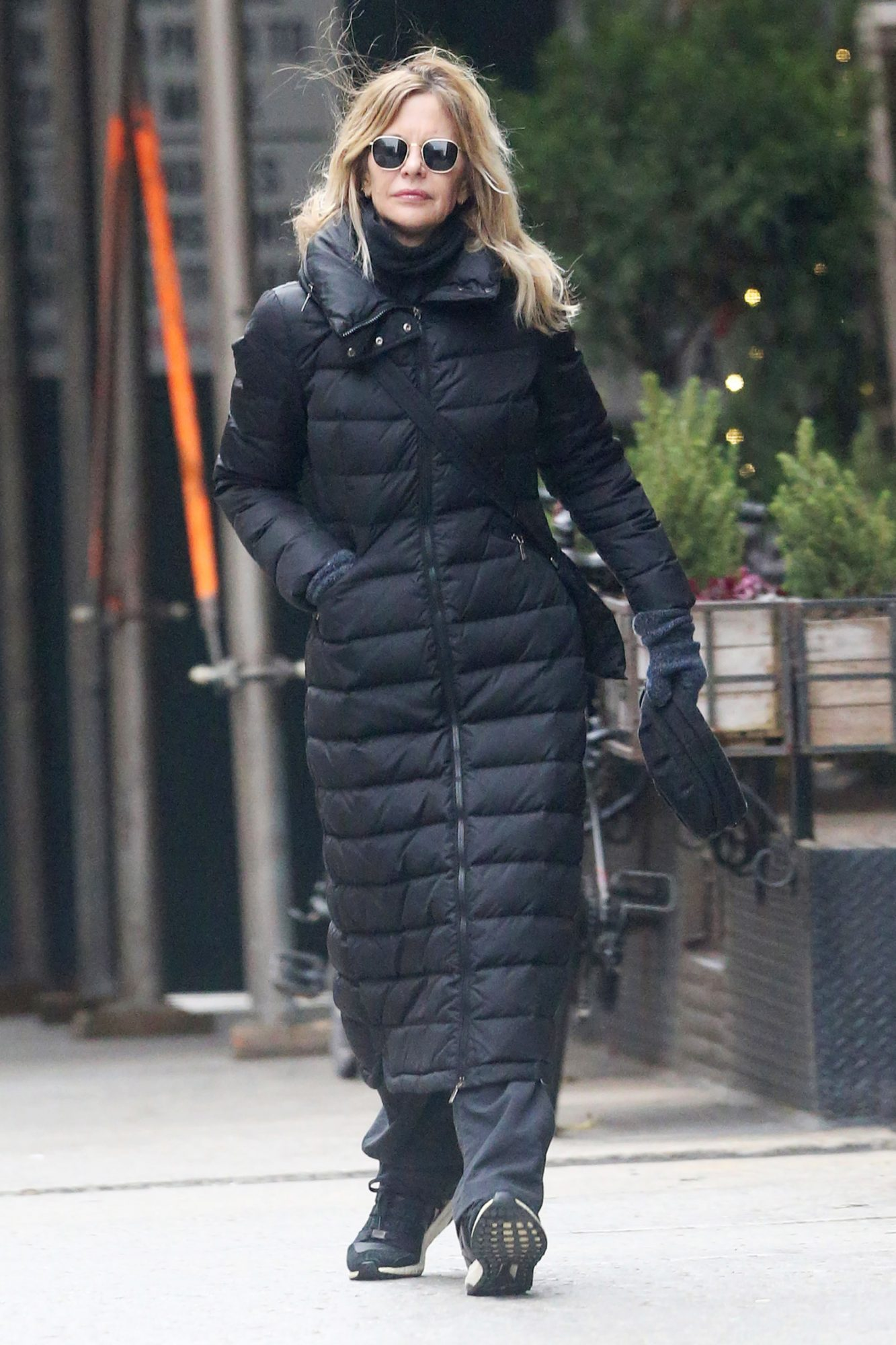 EXCLUSIVE Meg Ryan is Spotted out and about in Tribeca, New York City.