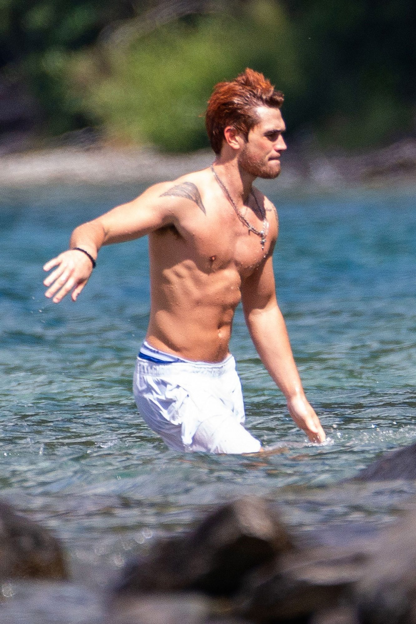 EXCLUSIVE: Riverdale stars Cole Sprouse and KJ Apa holiday in Queenstown, New Zealand, on New Year's Eve.