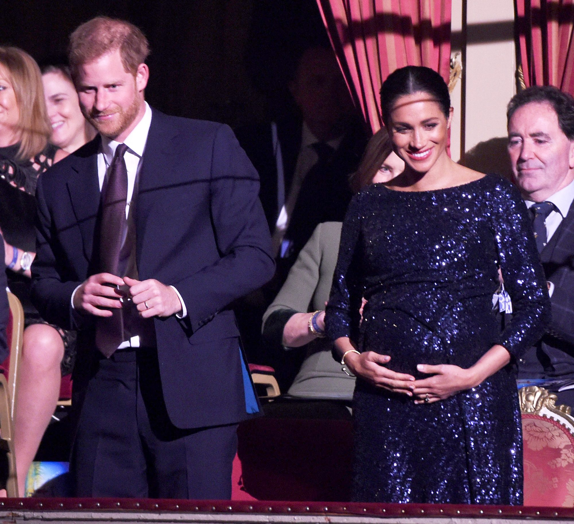 Prince Harry, Duke of Sussex, and Meghan, Duchess of Sussex attend Totem by Cirque du Soleil