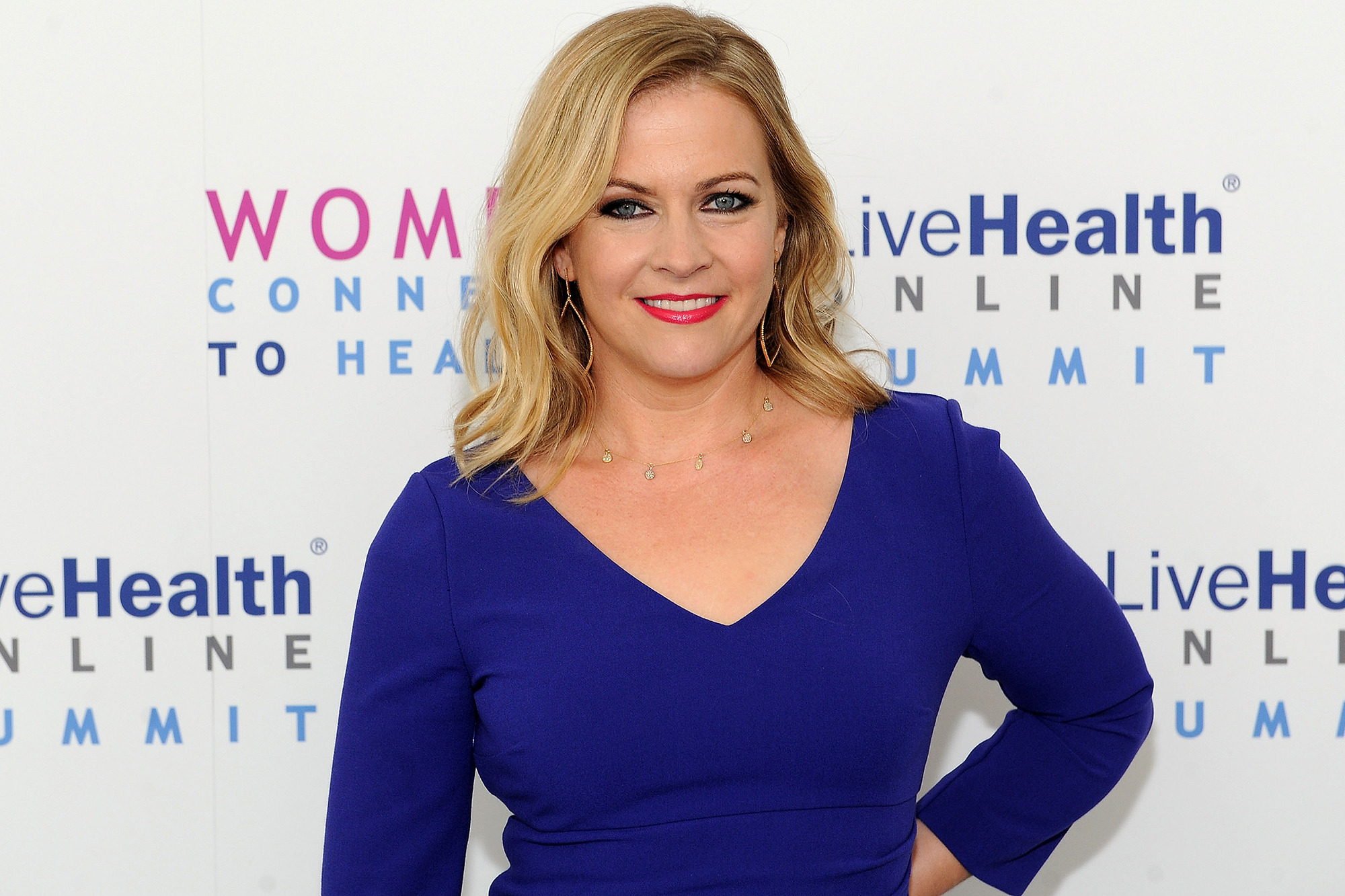 Melissa Joan Hart at the LiveHealth Online Summit: Women Connect to Health
