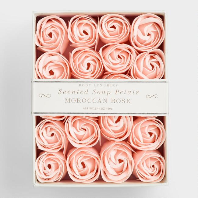 Unique Valentine's Day Gifts: Moroccan Rose Soap Petals