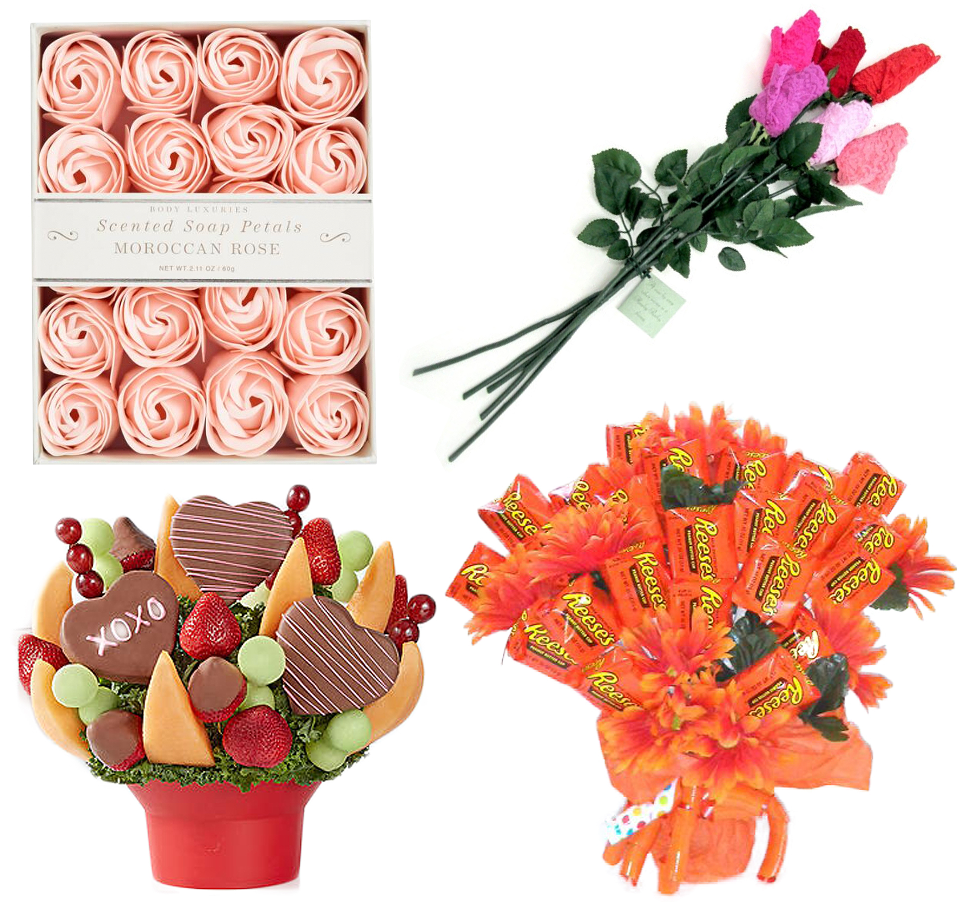 V-Day Bouquets That Aren't Flowers