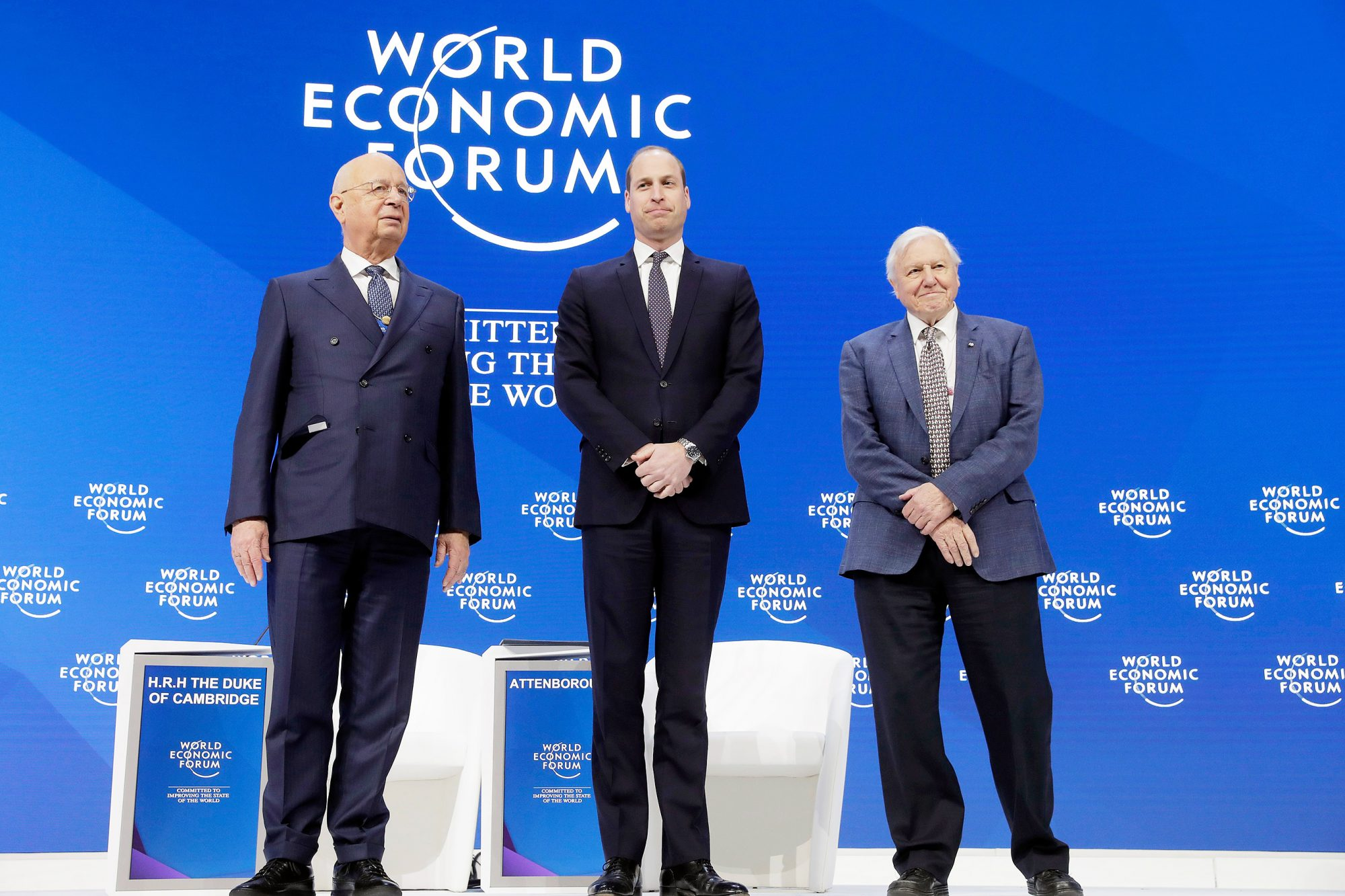 Forum, Davos, Switzerland - 22 Jan 2019