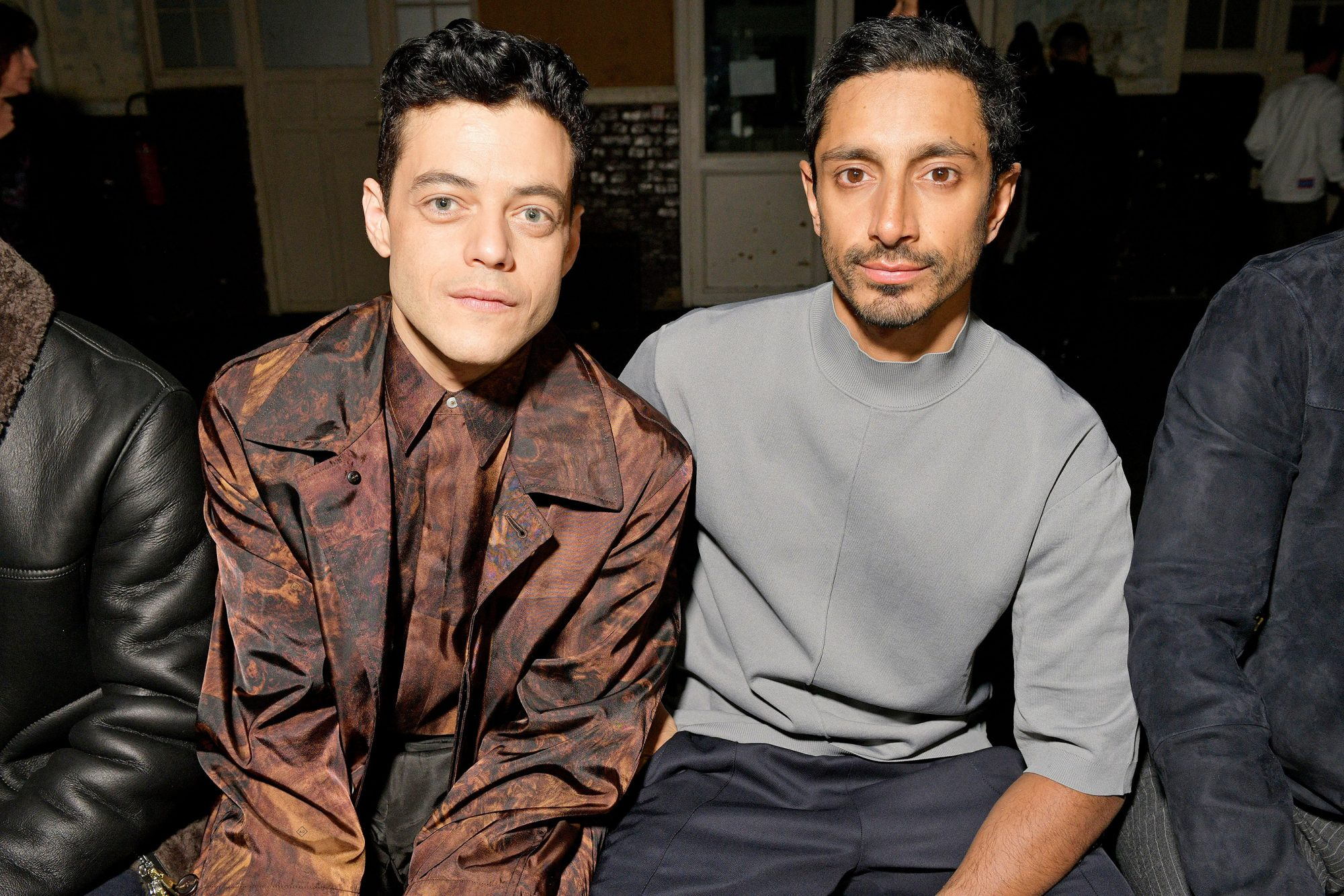 Dunhill show, Front Row, Fall Winter 2019, Paris Fashion Week Men's, France - 20 Jan 2019