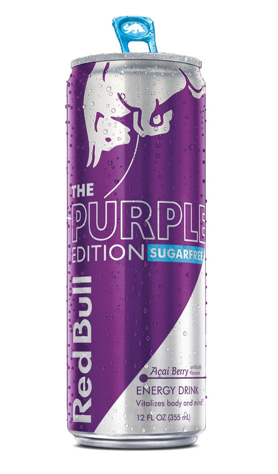 Red Bull Purple Edition Sugarfree