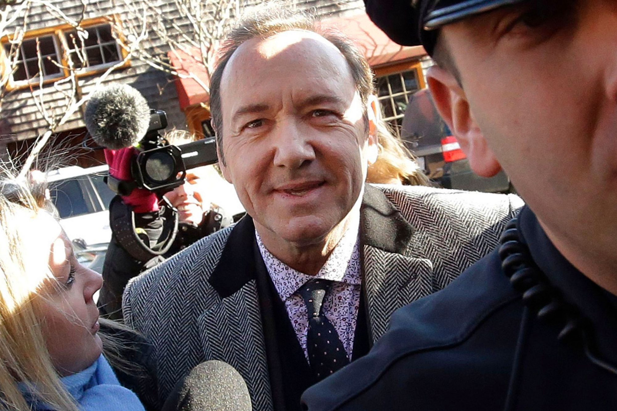 Sexual Misconduct Kevin Spacey, Nantucket, USA - 07 Jan 2019