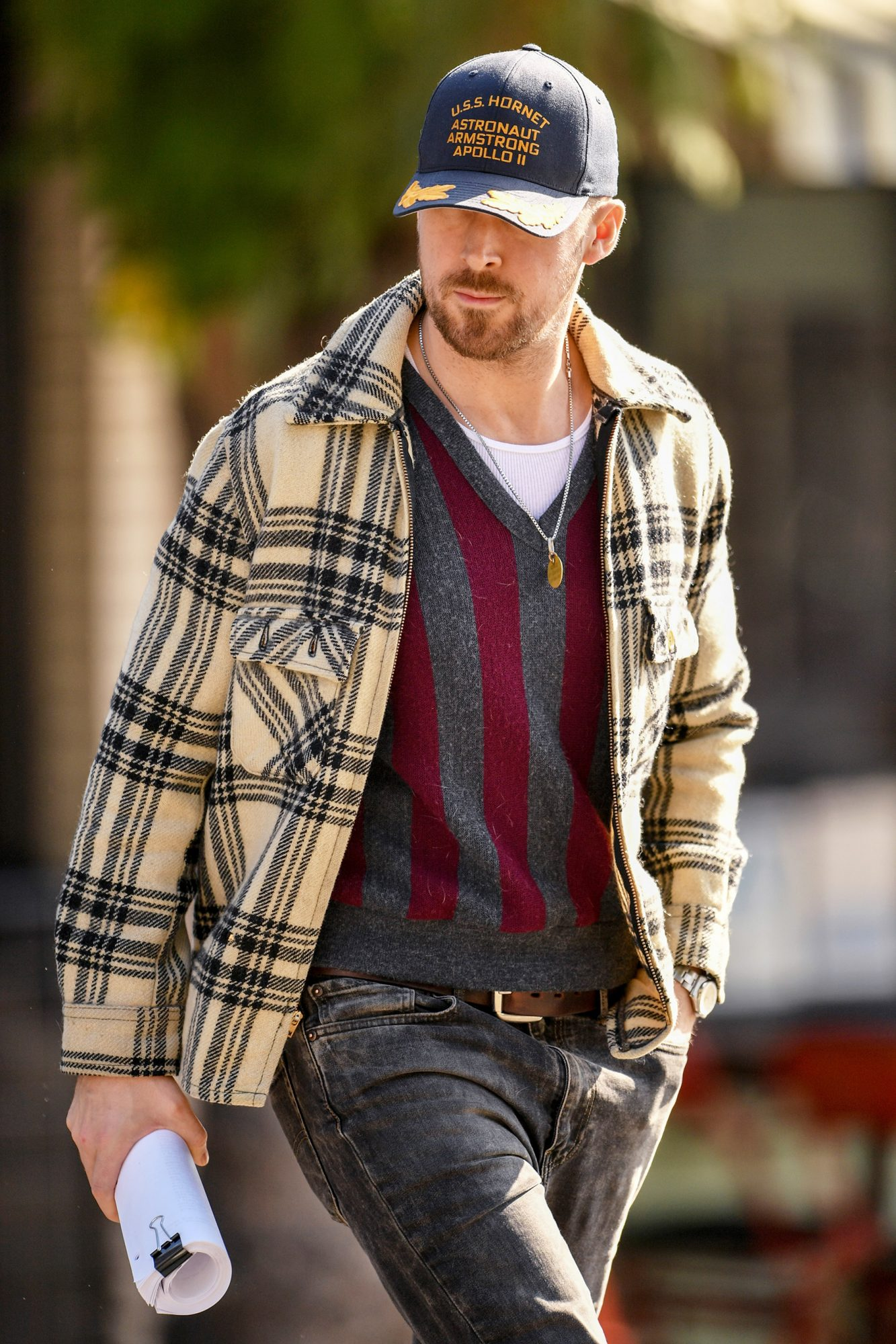 Ryan Gosling out and about, Los Angeles, USA - 10 Jan 2019