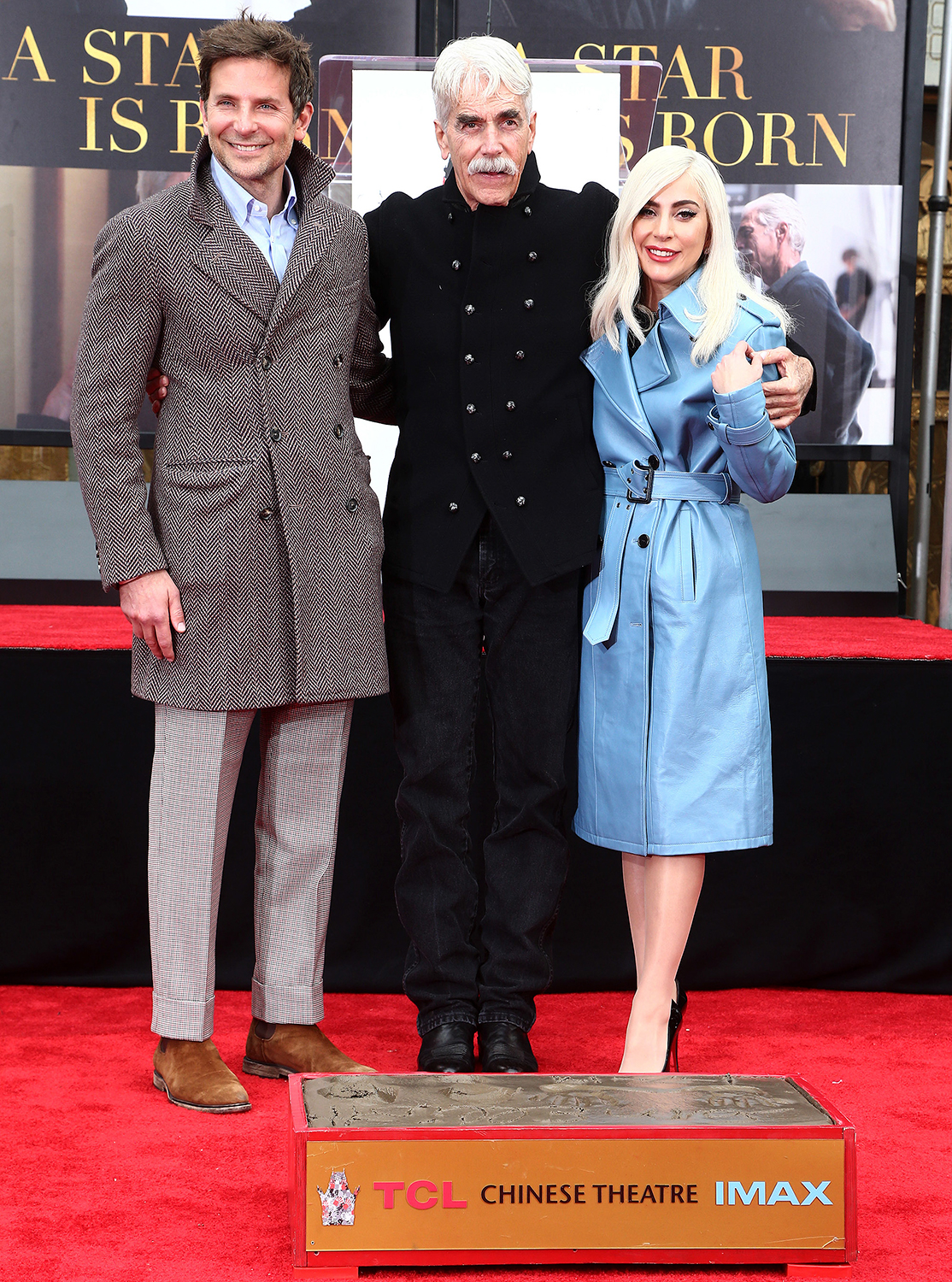 The TCL Chinese Theatre Hosts Sam Elliott Hand And Footprint Ceremony
